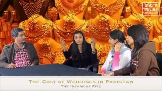 Infamous Five - Cost of Wedding in Pakistan