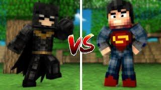 BATMAN SET VS SUPERMAN SET (Minecraft)