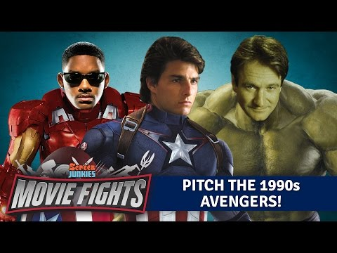 Pitch The 1990s Avengers WEIRD MOVIE FIGHTS
