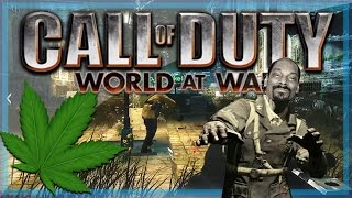 Call of Duty: WaW Custom Zombies Funny Moments - Nogla Sh*t Himself, Pot, and Snoop Dogg!