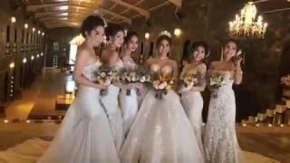 Hậu trường chụp ảnh cưới của Lâm Khánh Chi