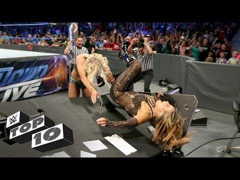 Xxx Mp4 Female Superstar Table Crashes WWE Top 10 3gp Sex