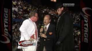 The Undertakers First WWF/WWE appearance