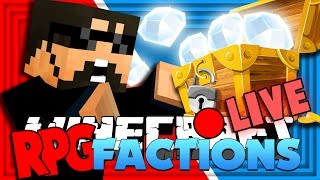 Minecraft: RPG Factions | DIAMOND CHEST & WAR!! [5]