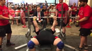 USAPL NJ States 2015: 702.5kg/1549lb total