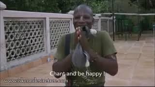 NIGERIAN TALK ABOUT ISKON TEMPLE AND SANSKRIT MANTRA