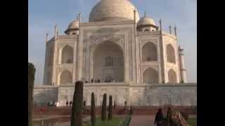 History of TAJ MEHAL, Agra, India. Latest Video on Feb2012
