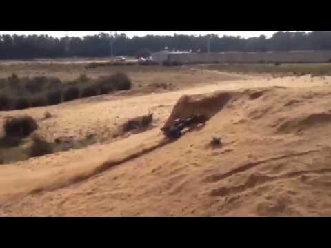 Rc No Limits- 1/5 baja roven dune speed runs and jumps
