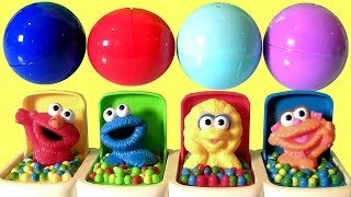 Funtoys Sesame Street Talking Pop-Up Pals Toys Surprise Elmo, Cookie Monster by Funtoyscollector