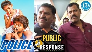 Police (Theri) Movie Public Response / Review || Vijay, Samantha, Amy Jackson || G V Prakash