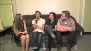 Interview: The Maine - 7/5/13 - Asbury Park, NJ. - The 8123 Tour