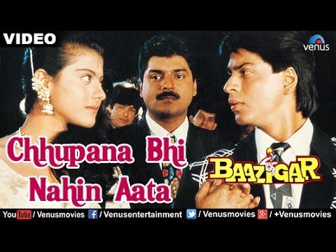 Xxx Mp4 Chhupana Bhi Nahin Aata Full Video Song Baazigar Shahrukh Khan Kajol Vinod Rathod 3gp Sex