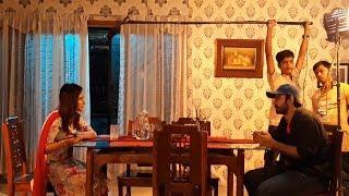 মেহজাবীন - আফরান নিশোর শ্যুটিংয়ে || ইন দ্য ডার্কনেস || Mehejabin || Afran Nisho