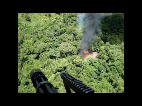 Policia Nacional Super artilleros bell 212 Santa Marta