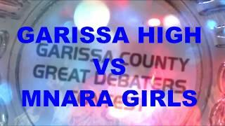 Garissa great debaters contest (GHS VS MNARA girls)