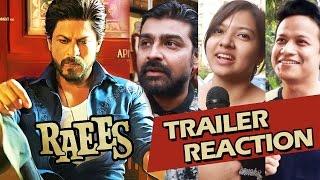 RAEES TRAILER Reaction - FANS Go Crazy Over Shahrukh Khan   Apna Time Shuru