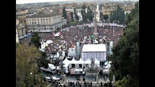 الآلاف يحتجون في روما على تدهور نظافة العاصمة الإيطالية