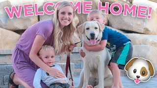 SWEET PUPPY REUNION! We Finally Have Our Dog Back!