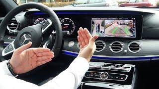 2018 Mercedes E Class - Park Itself? E43 AMG 4MATIC Review Tech Features Drive Parking Assist
