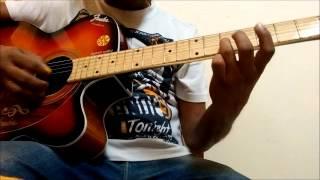 kabhi jo badal barse lead guitar