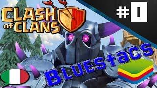 Clash of clans ITA ep0   Come giocare le app da PC ? BlueStacks !