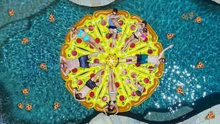 EPIC PIZZA POOL PARTY!