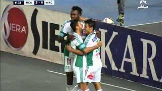 مباراة الرجاء واولمبيك آسفي اليوم الاحد 23-10-2016 في الدوري المغربي