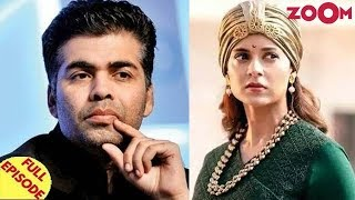 Karan Johar gets ANGRY at Sidharth's birthday party | Kangana Ranaut avoids media interaction & more