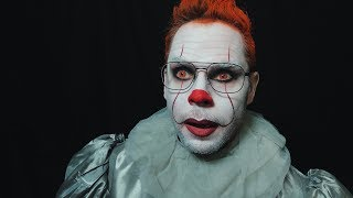 Dad Turned Into Pennywise the Clown from IT