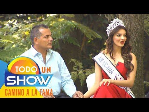 Andrea Toscano y el ejemplo de su padre para ser Mexicana Universal   Todo un show