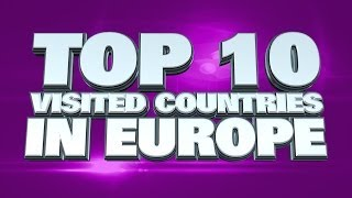 10 Most visited countries in Europe 2014
