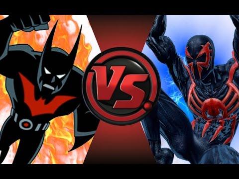 BATMAN BEYOND vs SPIDER-MAN 2099! Cartoon Fight Club Episode 32