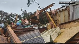 A look at Clarendon county storm damage