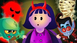 Halloween Songs For Kids Trick Or Treat Scary Nursery Rhymes Spooky Kids Songs Collection KidsCamp