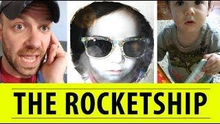 Building The Rocketship | FREE DAD VIDEOS