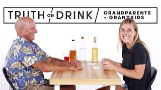 Grandparents & Grandkids Play Truth or Drink   Truth or Drink   Cut