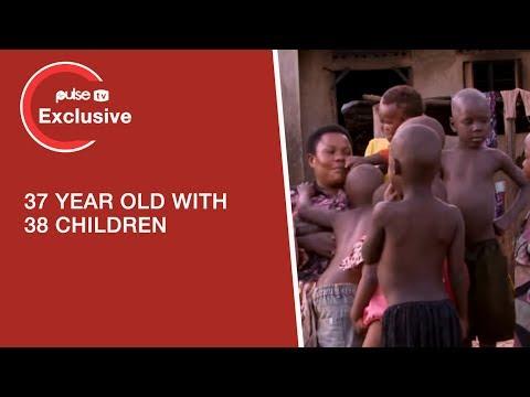 Meet Mariam Nabatanzi, 37-Year-Old Ugandan Woman, With Over 38 Children | Pulse TV