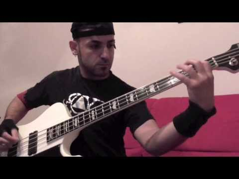 Spirit Crusher - Death Cover Bass Playthrough