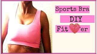 DIY Sports Bra I Easy Beginner Sewing