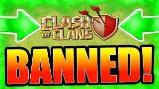 Clash Of Clans BANNED!!! - GROUND BREAKING NEWS!!