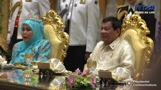 Royal Banquet Dinner with His Majesty the Sultan of Brunei Darussalam