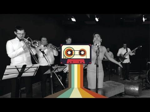 'Tamali Ma'ak', Cassette cover - 20s Jazz Style ft. Lama Zakharia
