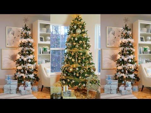 Arboles de navidad colecci n 2015 vidoemo emotional - Decoraciones del arbol de navidad ...