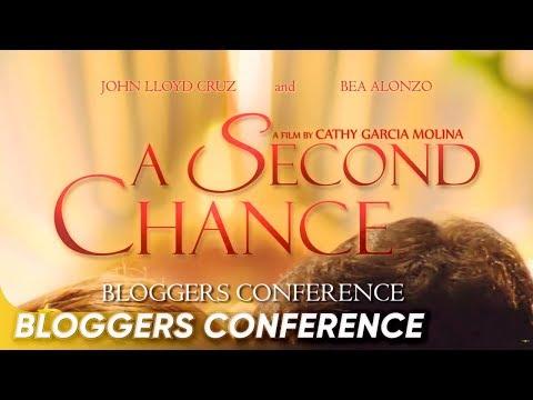 FULL A Second Chance Bloggers Conference John Lloyd Cruz Bea Alonzo