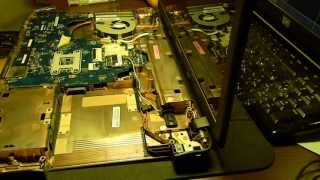 How to open and clean toshiba satellite c660