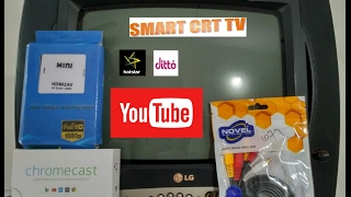 Convert old CRT TV into SMART TV