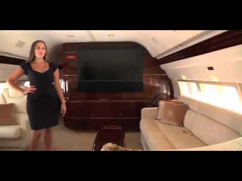 Visitez l avion privé de Donald trump