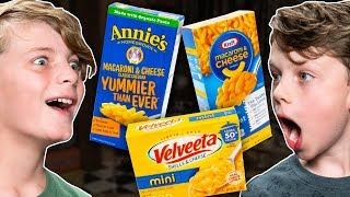 Blind Mac and Cheese Taste Test   MINI MYTHICAL MORNING