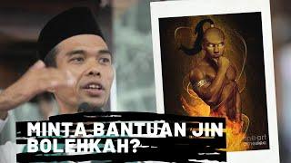 Bolehkah Meminta Bantuan Jin Supaya Kaya - Ustadz Abdul Somad