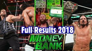 Money in the Bank 2018 Full Highlights || Matches Results || Wrestling Hindi Khabar ||
